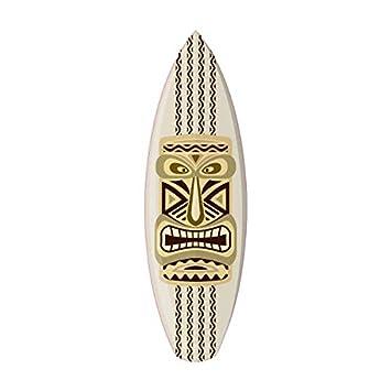 Tabla de Surf Tiki 2 adhesivo decorativo Adhesif: Amazon.es: Coche y moto
