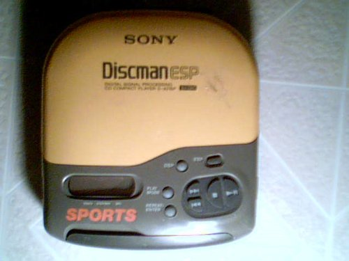 Sony Discman Cd Player - 9