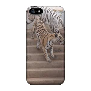 Hot Tigers First Grade Tpu Phone Case For Iphone 5/5s Case Cover