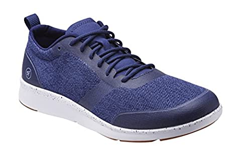 Superfeet Stuart Men's Crafted Sport Shoe, Estate Blue, Athletic Synthetic Mesh / TPU, Men's 7.5 US (Superfeet Blue Premium)