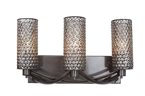 Varaluz Casablanca 3 Light Wall Lighting , Steel With Recycled Steel - Wall Lighting Varaluz