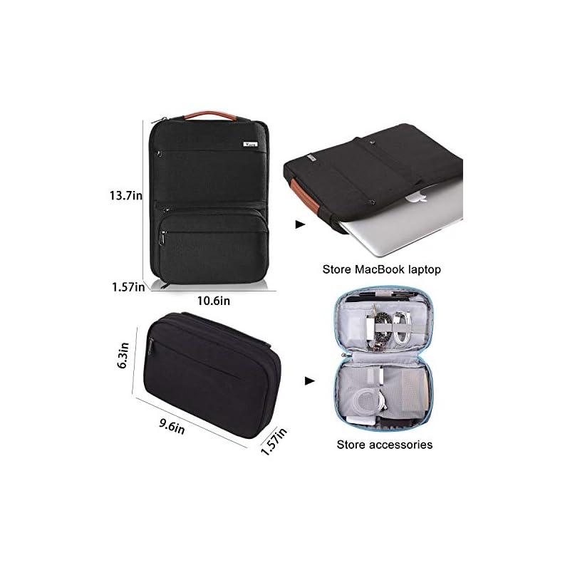 Voova 13 13.3 Inch Laptop Sleeve Case Compatible MacBook ...