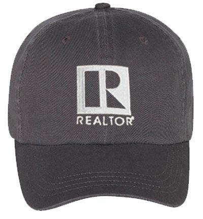 Realtor Logo Cap (Charcoal)