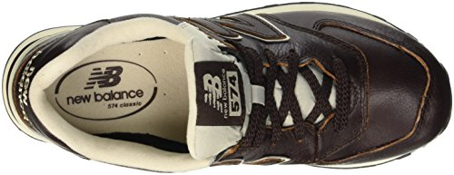 211 Sneaker Balance 574 Uomo New barrel Marrone Brown A0qSRnx