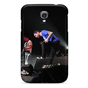 Shock Absorbent Cell-phone Hard Cover For Samsung Galaxy S4 With Support Your Personal Customized HD Rise Against Series CharlesPoirier