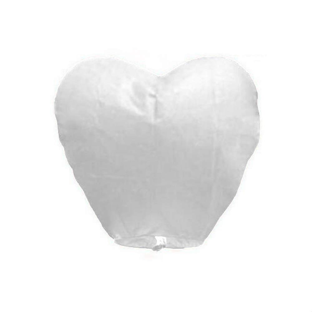 Chocity 50 Pack Sky Lanterns Chinese Biodegradable Paper Large Flying Floating Lanterns Romantic Night for Party Sea Beach Holiday Vacation by Chocity