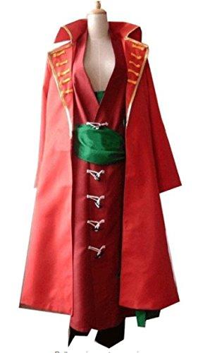 Vicwin-One One Piece Roronoa Zoro Cosplay Costume (Zoro Fancy Dress)
