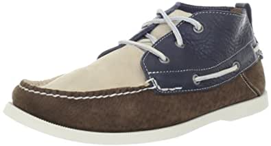 Timberland Men's Heritage Chukka Boot,Brown/Blue,7.5 M US