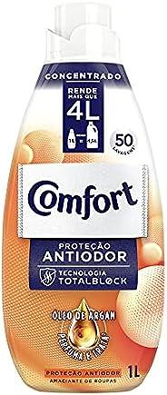 Amaciante Concentrado Comfort Proteção Antiodor 1 L