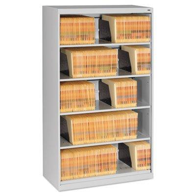 Archivador lateral de estante abierto, 36 W x 16 1/2d x 63 1 ...
