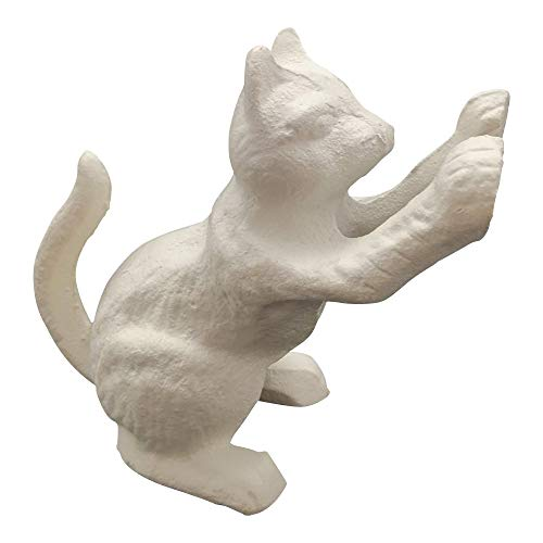 (Comfy Hour Cast Iron Door Stopper - Cat, White)