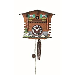 Trenkle Quarter Call Cuckoo Clock with 1-Day Movement Swiss House TU 623