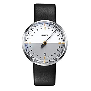 UNO 24 NEO Men's Watch, Botta-Design, Leather Strap, 222910