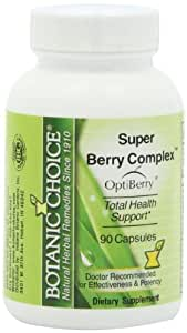 Botanic Choice Super Berry Complex Capsules, 90 Count