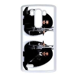 Men in Black LG G3 Cell Phone Case White J9908501
