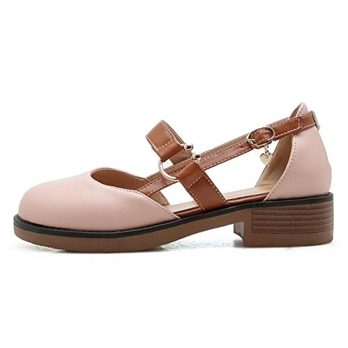 Sandals Pink Women Jane Mary Shoes KemeKiss nFWtc