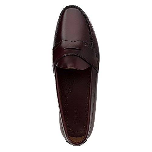 Gh Bas & Co. Heren Logan Penny Loafer, Bordeaux Leer, Us 9.5 3e