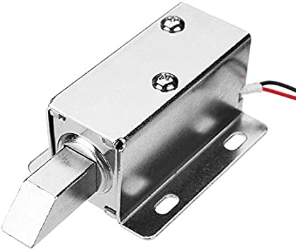 DC 12V Cabinet Door Electric Lock Assembly Latch Solenoid for Drawer locker lock