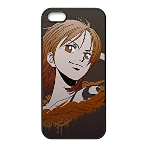 one piece nami iPhone 4 4s Cell Phone Case Black xlb2-070319