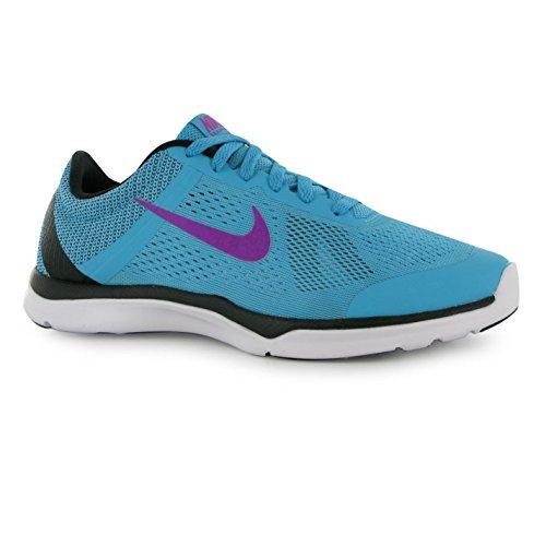 Nike In Season Training Shoes Damen blau/violett Gym Fitness Trainer Sneakers