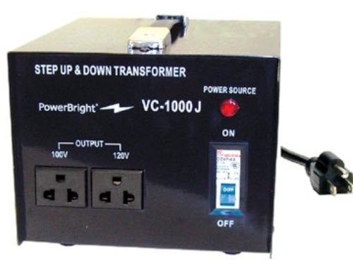 Power Bright Japan Voltage Transformers (1000 Watt) by PowerBright