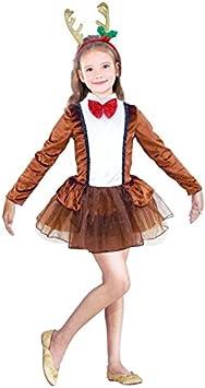 Partilandia Disfraz Reno Dancer Navidad para niña 2-4 años ...