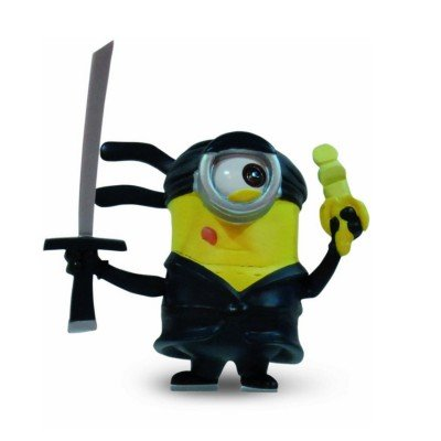 Despicable Me 2 - Minion Ninja - Posable Figure]()