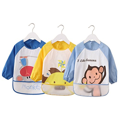 Cartoon Toddler Waterproof Sleeved Months 3 product image