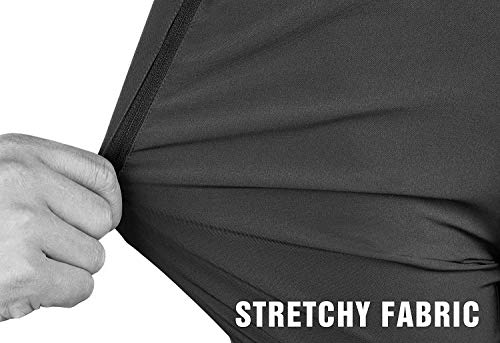 TRAILSIDE SUPPLY CO. Mens Workout Athletic Pants for Sports Gym Travel - Stretchy,Breathable