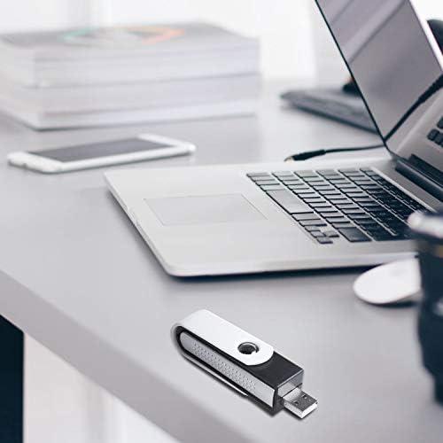 Andifany USB ionic Oxygen Bar Freshener Air Purifier ionizer For Laptop Black+White