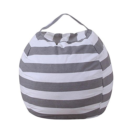 UNIhappy EXTRA LARGE Stuff 'n - Stuffed Animal Storage Bean Bag Cover by Clean up the Room and Put Those Plush Toy to Work for You! (2)