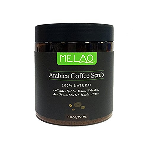 TBEA 100% Natural Arabica Coffee Scrub with Organic Coffee, Coconut and Shea Butter, 8.8 oz (10PACK) by TBEA (Image #1)