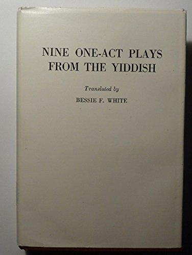 Nine One-Act Plays from the Yiddish