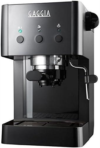 Gaggia RI8323/61 Independiente Manual Máquina espresso 1L Negro - Cafetera (Independiente, Máquina espresso, 1 L, Negro): Amazon.es: Hogar