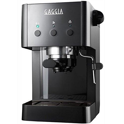 Gaggia RI8323/61 Independiente Manual Máquina espresso 1L Negro ...