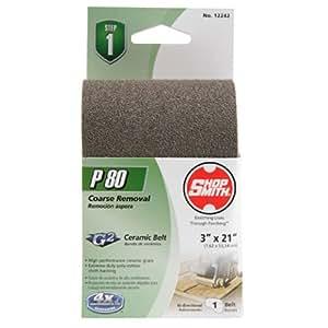 Shopsmith 12242 80 Grit Ceramic Sanding Belts 1 Pack 3