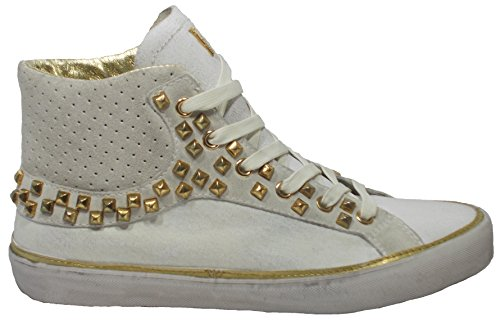 Crime London Sneaker Donna Stivaletto Borchie Pelle,36