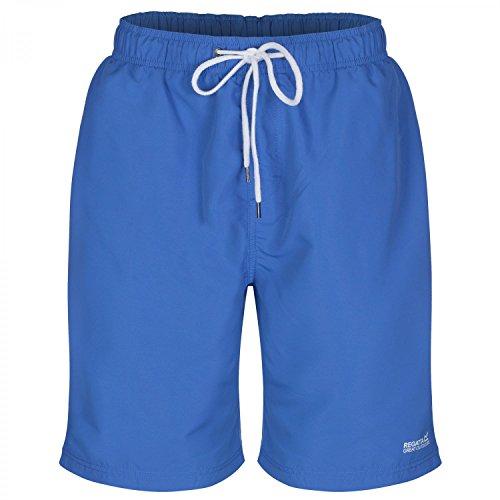Regatta Mens Mawson Classic Drawstring Polyester Swim Shorts