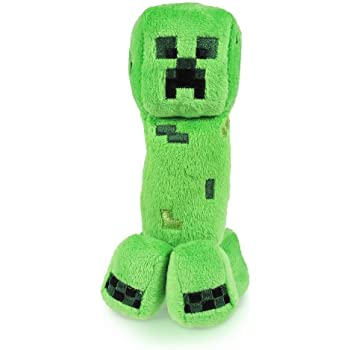 Amazoncom Minecraft Creeper 7 Plush Toys Games