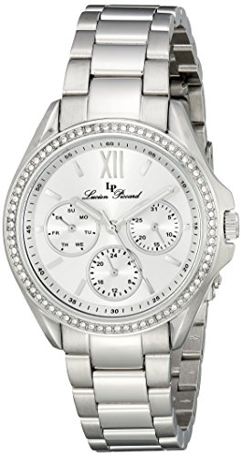 Lucien Piccard Women's LP-10052-22S Eclipse Analog Display Japanese Quartz Silver Watch