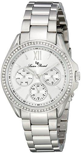 Lucien Piccard Women's LP-10052-22S Eclipse Analog Display Japanese Quartz Silver Watch