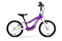 Learning to ride a bike with 3+ Not all the little pros of tomorrow start their cycling careers at the same time. The woom 1 is intended for children 18 months and up. The woom 1 PLUS, however, is intended for children 3 years and up; it real...