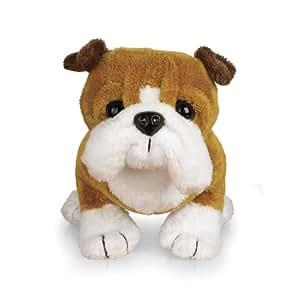 Amazon Com Ganz Lil Kinz Bulldog 6 5 Plush Toys Games