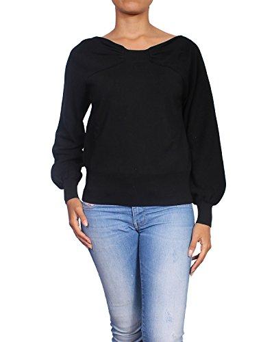 BURBERRY LONDON - Sueter / Jersey de Punto para Mujer en Algodón ALL84409 negro