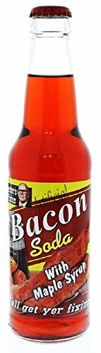 Lester's Fixins Bacon with Maple Syrup Soda 12oz (Bacon Flavor Soda)