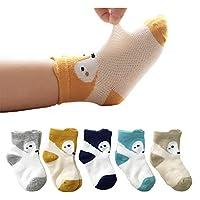 5-Pair Pack Chaoshuo Cool Mesh Baby Socks