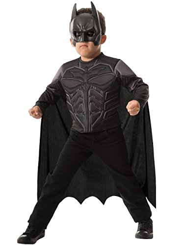 Batman Muscle Chest Shirt Boxed Dress-Up (White Batman Costumes)
