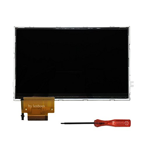 Lenboes LCD Screen Display Unit with Backlight Replacement Part with Opening Tool for Sony PSP 2000 2001 Series