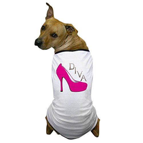 (CafePress - Shoe Diva Dog T-Shirt - Dog T-Shirt, Pet Clothing, Funny Dog)