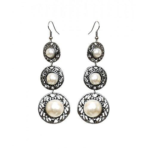 Buy Pearl Chandelier Earrings Online at Low Prices in India ...